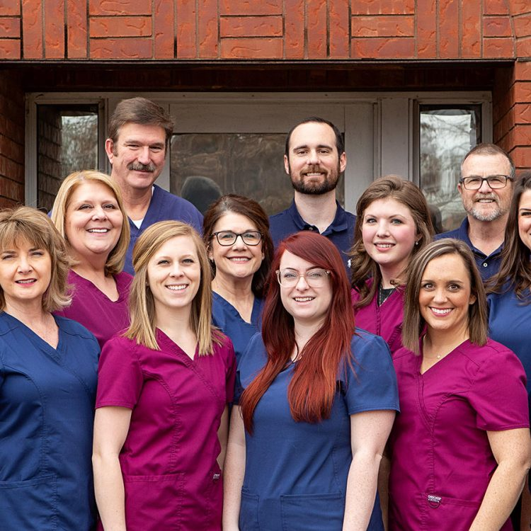 Fiser Family Dental Care Team Photo